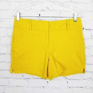 ♡ Ann Taylor LOFT|The Riviera Short In Yellow